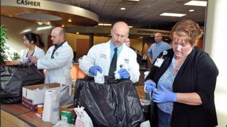 Metro Health y Wyoming salvando vidas con reciclaje de medicamentos