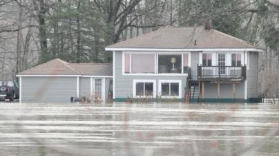 Advierten sobre inundaciones por ríos crecidos