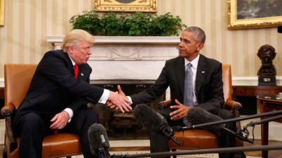 Obama pidió a Trump que proteja a los jóvenes indocumentados