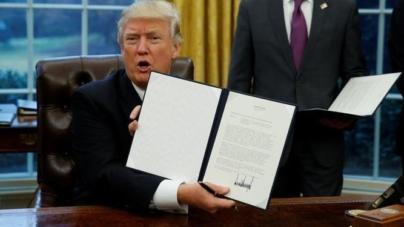 Trump registra la menor aprobación de los últimos 10 presidentes