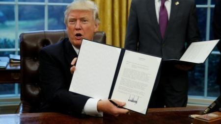Texas, primer estado que respalda el veto migratorio de Trump
