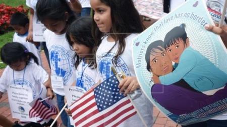 Niños estadounidenses de padres indocumentados abogan por sus situaciones