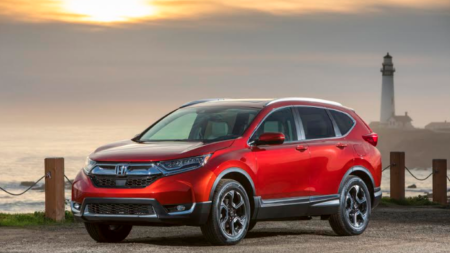Honda CR-V. El culpable.