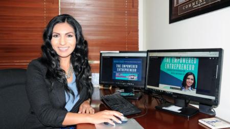 """María Erazo Enterprises: """"Capacitando a propietarios a ser emprendedores"""""""