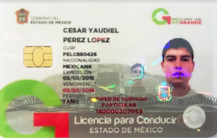 Licencia De Conducir De México, Guatemala, Honduras, El