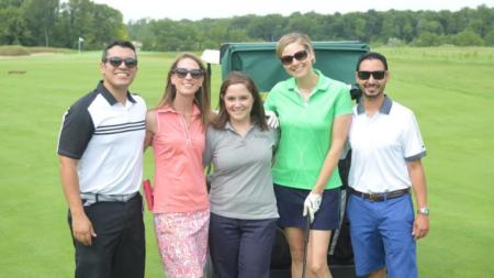 Torneo de golf reúne empresarios y negocios