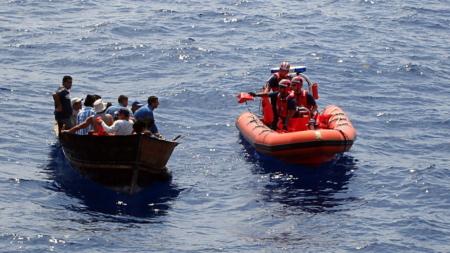 Interceptan a grupo de inmigrantes cerca de costa del sureste de Florida
