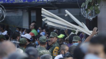 Fuerzas Armadas se movilizan para garantizar seguridad en Ciudad de México