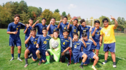 Equipo junior fútbol de Godwin gana 6 a 0