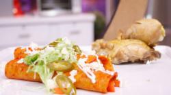 Enchiladas mineras estilo Guanajuato