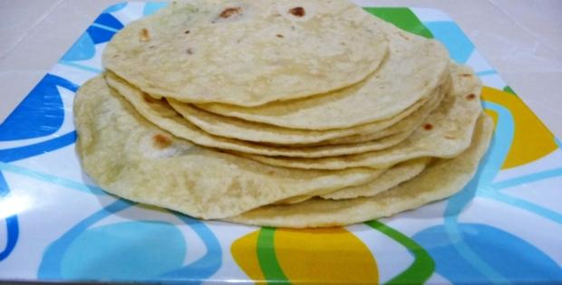 Tortillas de harina estilo Sinaloa