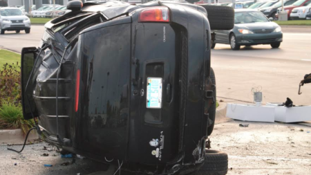 Aumentan cifras de accidentes automovilísticos