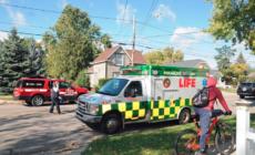 Hombre crítico después de intento de suicidio con combustible