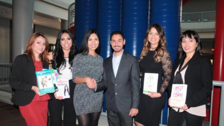Autoras latinas buscan inspirar con sus libros