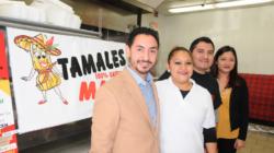 Tamales Mary celebra su 1er aniversario con bufete gratis