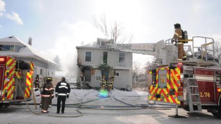 Incendio destruyó casa en Wyoming