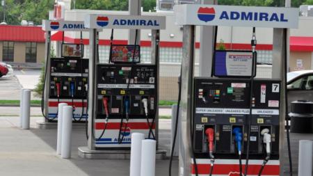Asaltan gasolinera Admiral en Wyoming