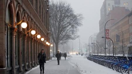 Una ola de frío de récord asola el país
