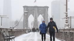 Anticipan fuerte tormenta invernal en Nueva York y sus alrededores