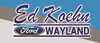 ED KOHEN FORD WAYLAND