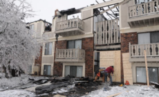 Fuego deja residentes en complejo Wingate sin techo.
