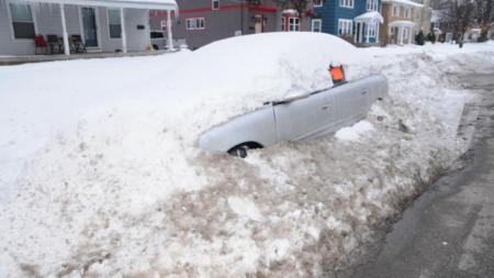 Residentes optaron por el calor del hogar durante última nevada