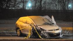 Una persona herida críticamente en accidente en Calle 44
