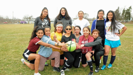 Equipo femenino de fútbol de Godwin listo para temporada