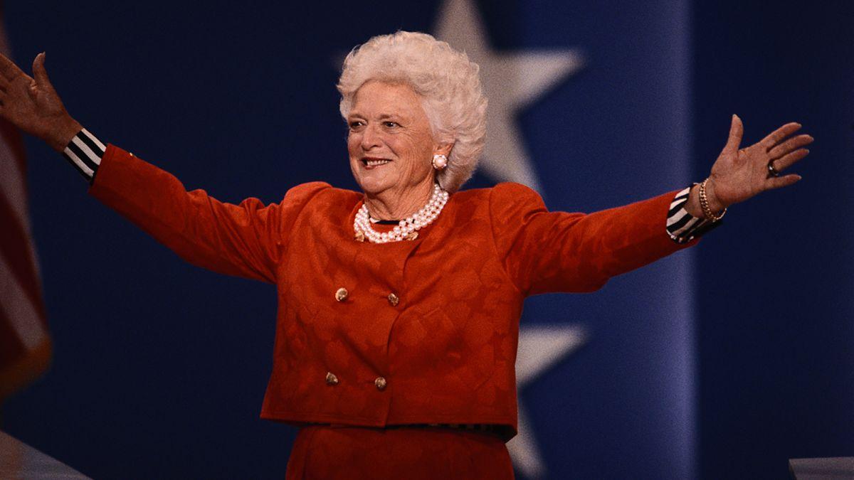 Barbara Bush, ex primera dama de EE.UU, muere a los 92 años