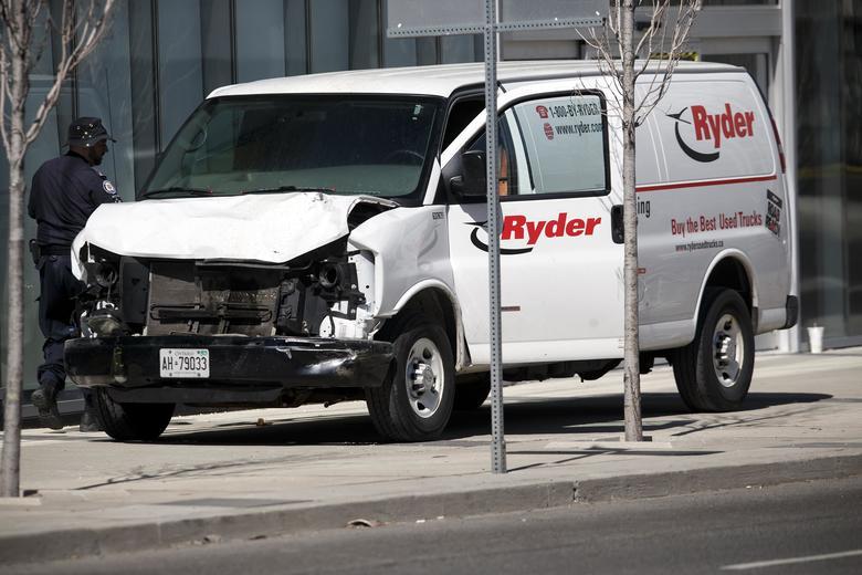 Autor de atropellamiento en Toronto elogió a un asesino estadounidense antes del ataque