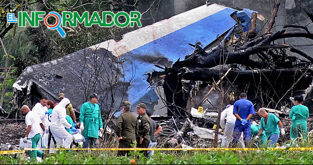 Se confirman los muertos y heridos del avionazo en Cuba