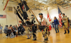 GRPS celebró a los niños, cultura nativa americana