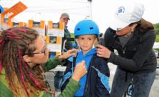 Gira resalta seguridad ciclista, creciente zona comercial