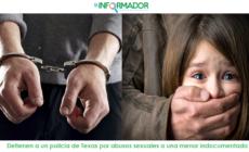 Detienen a un policía de Texas por abusos sexuales a una menor indocumentada