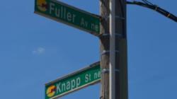 Accidente fatal de motocicleta en Fuller Av NE / Knapp St NE