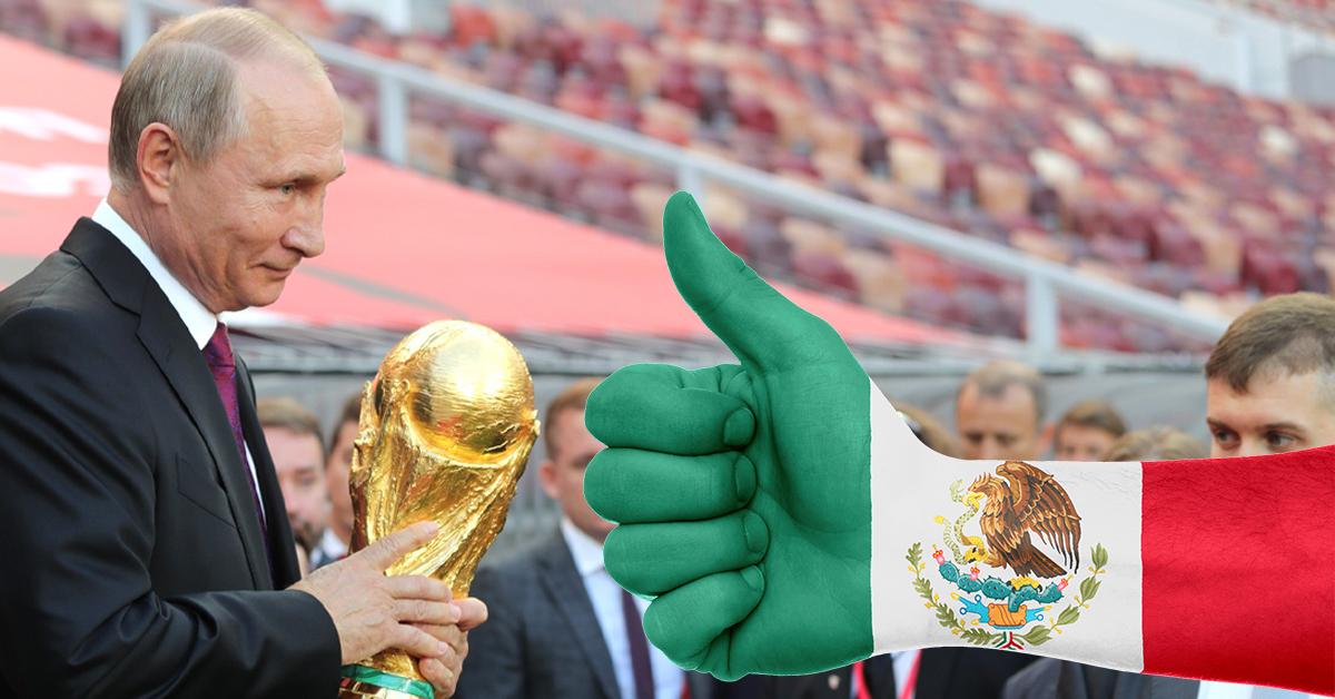 México fue a Rusia a GASTAR