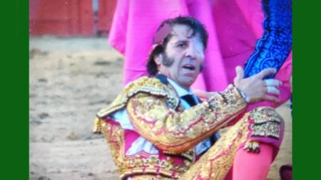 VIDEO FUERTE: Torero Juan José Padilla recibe cornada que le arranca cuero cabelludo.