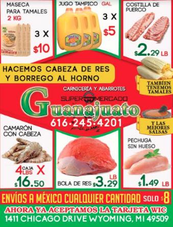 ESPECIALES MERCADO GUANAJUATO