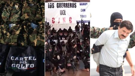 Grupo especial de EE.UU y México combatirá estructura financiera de cárteles