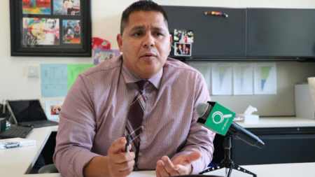 Nuevo director en Burton Middle School