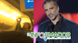Alejandro Fernández causa pánico