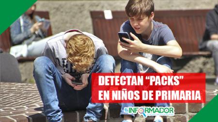 "Detectan ""packs"" en niños de primaria"