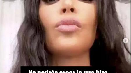Kim Kardashian sorprende por lo que hizo en su cuello
