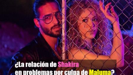 ¿Shakira y Maluma?