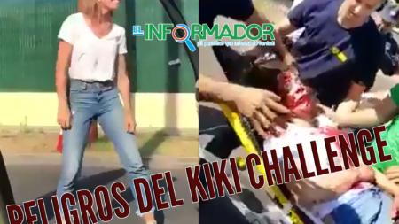 CONSECUENCIAS DEL RETO VIRAL 'KIKI CHALLENGE'