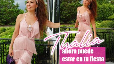Thalia puede estar en tu fiesta