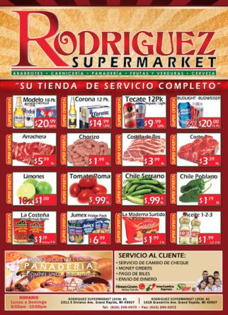 ESPECIALES SUPER MERCADO RODRIGUEZ