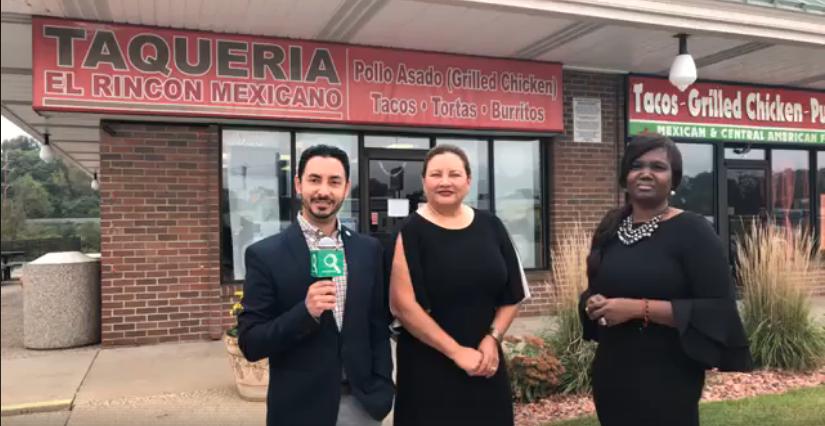 Miembros deWest Michigan Hispanic Chamber of Commercecon propietaria deTaquería El Rincón Mexicano