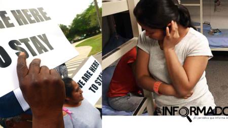 Centenar de inmigrantes detenidos en EEUU protestan por trato inhumano