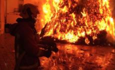 Fuerte incendio en Georgetown Township